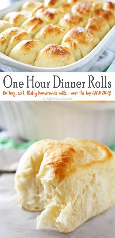 One Hour Dinner Rolls - Kleinworth & Co