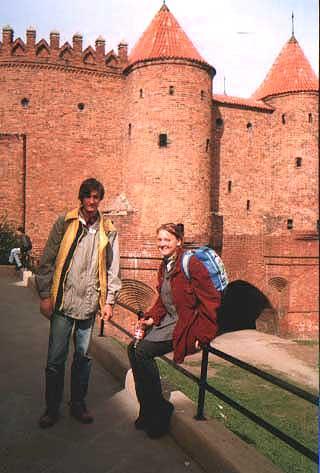 Per žmonių darbo šventę su Kotryną pasivėžinome iki Krokuvos. Nors šita nuotrauka iš Varšuvos.