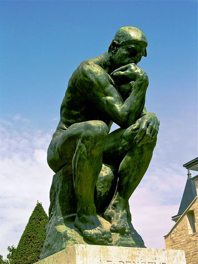 Auguste Rodin, The ThinkerAuguste Rodin, The Thinker