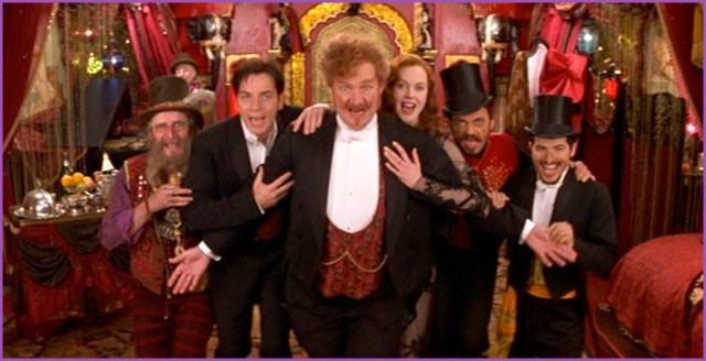 The cast of Moulin Rouge! (Jim Broadbent!)
