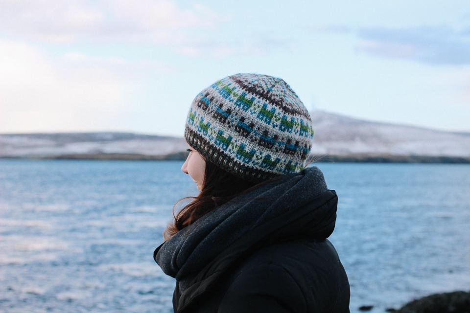 Ella in her Crofthoose Hat