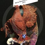 "Highland Grouse, winner of the Madeira ""Mainly Machine Embroidery"" section"