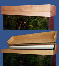 90 gallon Aquarium Cabinet Stand with Hood Plans