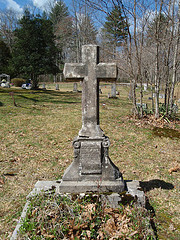 """Cemetery Cross"" by Joel Kramer (2011), shared under a Creative Commons Attribution license"