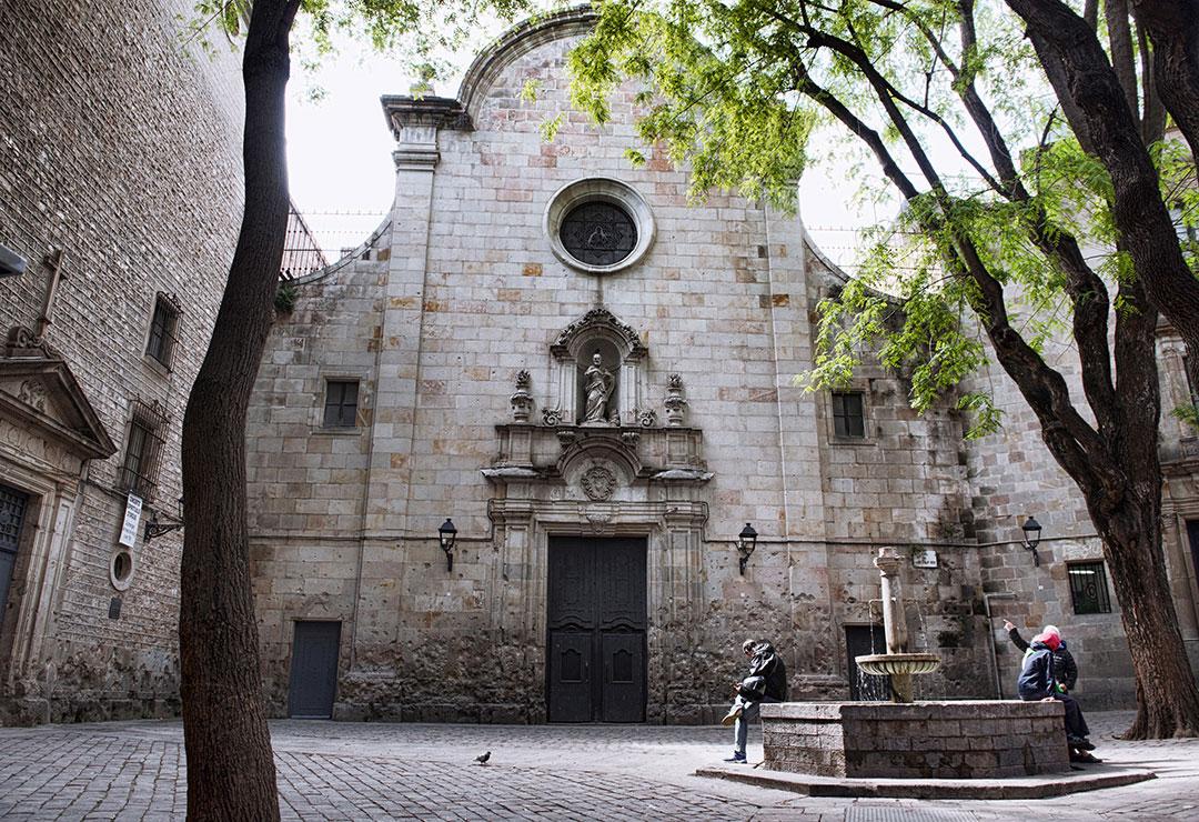 Resultado de imagen para Iglesia de san Felipe Neri barcelona