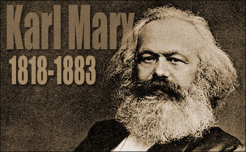 Karl Marx and his major works