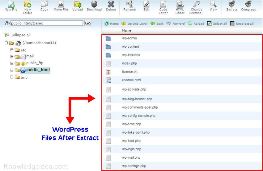 How to Install WordPress in HostGator