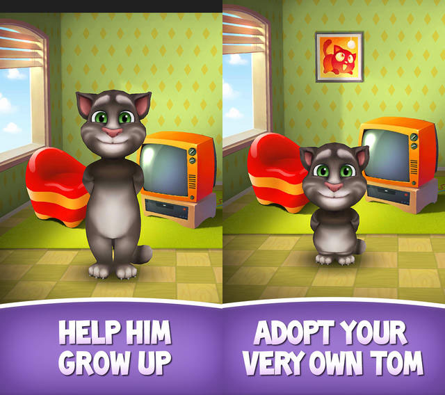 Top 10 Android Entertainment Apps My Talking Tom
