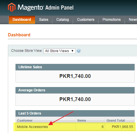 Magento Ecommerce Platform Review orders and shipping