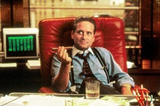 Gordon Gekko, dal film Wall Street
