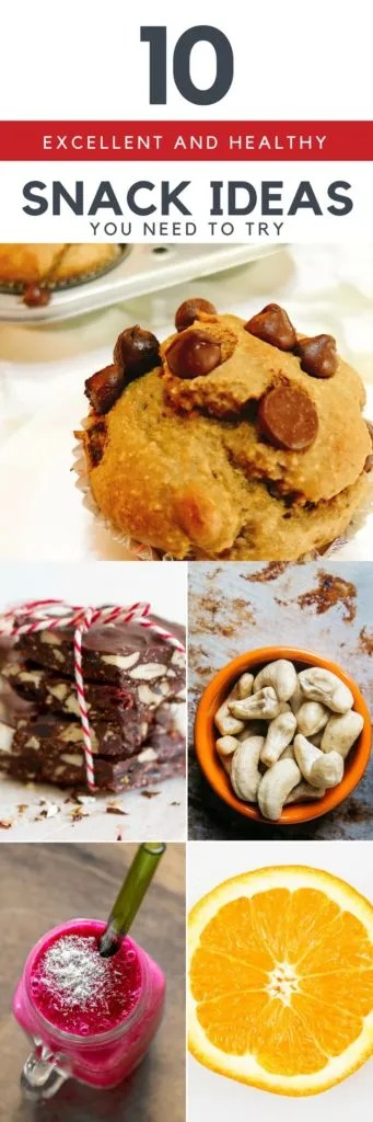 10 Excellent and Healthy Snack Ideas You Need to Try - Koboko Fitness
