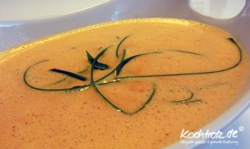 cremige Paprika-Suppe