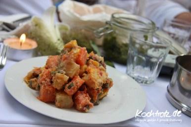 Süßkartoffel-Salat - Diner en blanc 2012