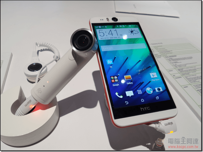 HTC Double Exposure 紐約發表會正式發表 HTC EYE Experience、HTC Desire EYE 與 HTC re - 電腦王阿達