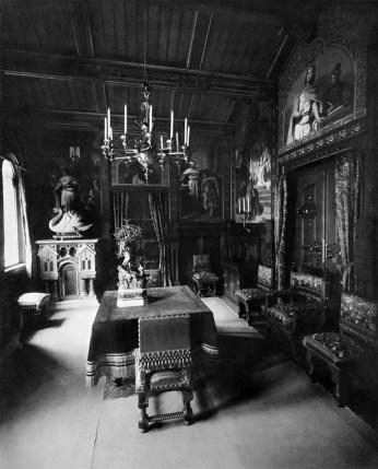 Speisezimmer (1) – Schloss Neuschwanstein, Königliche Wohnung