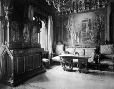 Wohnzimmer (1) – Neuschwanstein, Königliche Wohnung