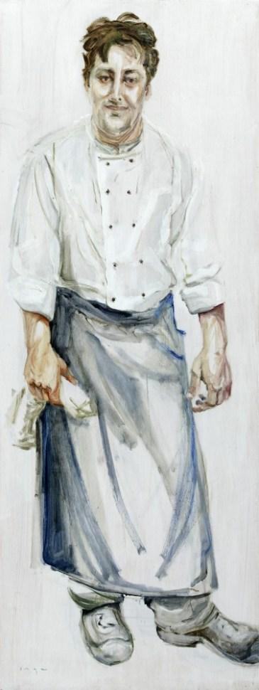 Cook | Acrylic on wooden panel | 60x120 cm | 750€
