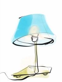 illustration Lamp