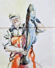 Fisherman 04 | Acrylic on sailcloth | 70x90 cm |750€