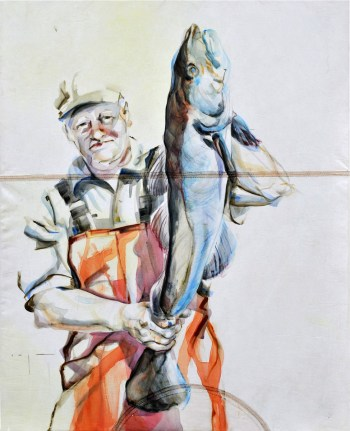 Fisherman 04 | Acrylic on sailcloth | 70x90 cm |750€