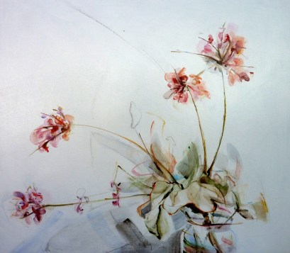 Finca Flowers 01| Acrylic on wooden panel | 70x80 cm | 850€