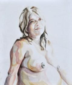 Maria Madonna | Acrylic on wooden panel | 70x80 cm | 1050€