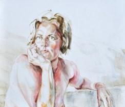 Ellen   Acrylic on wooden panel   70x60x3,5 cm   950€