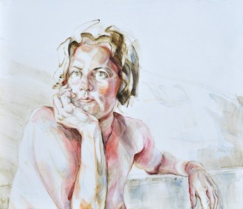 Ellen | Acrylic on wooden panel | 70x60x3,5 cm | 950€