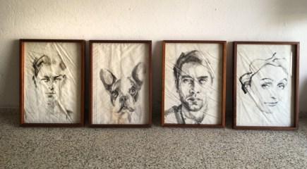 Optional - wooden frames 50x70 cm