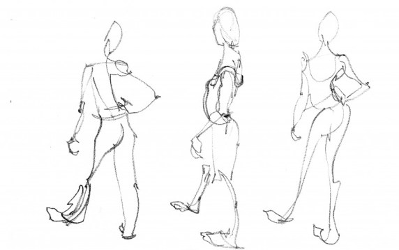 Live Model Drawing Lanzarote