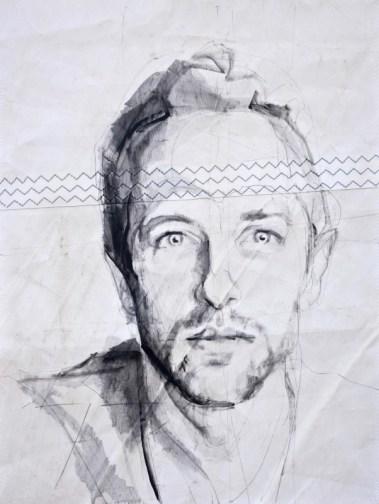 Chris Martin|Acrylic on sailcloth | 50x70 cm | 650€
