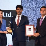 Adityaram Received the Best Realty Brand Award Stills