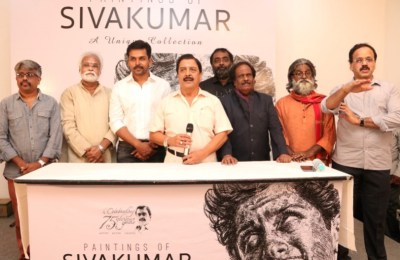 Paintings of siva kumar event inaguration function inagurated by Karthi  (14)