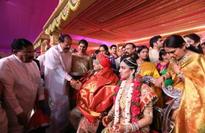 Celebs at T Subbarami Reddy Grandson Keshav Wedding Photos (1)