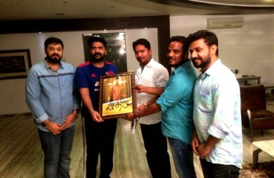 Actor STR Launch Sathru Frist Look Poster (14)
