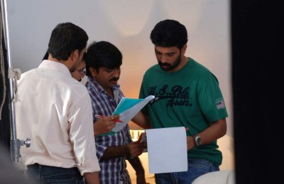 Iruvar Oppandham Working Stills (8)