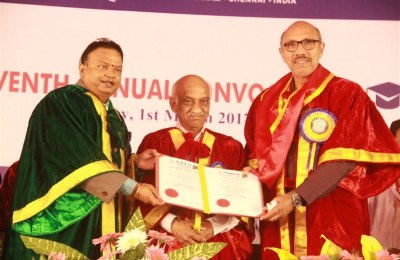 Seventh Annual Convocation of Vel's University (8)