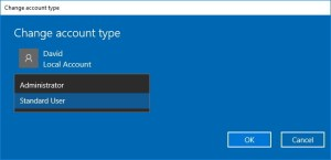 change-account-type-windows-10