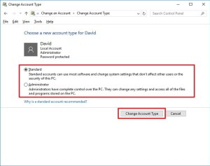 select-account-type-windows-10
