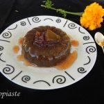Chocolate Pudding with Petimezi and Charoupomelo