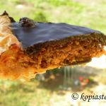 The Best Chocolate Honey Baklavas Tart