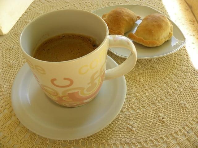 Greek coffee and Kolokotes