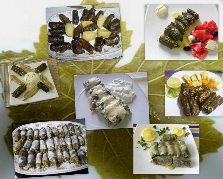 collage me dolmades