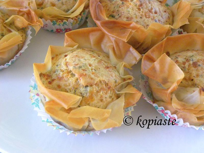 Halloumi Muffins with Phyllo 2