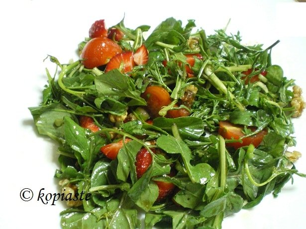 Rocket and watercress salad