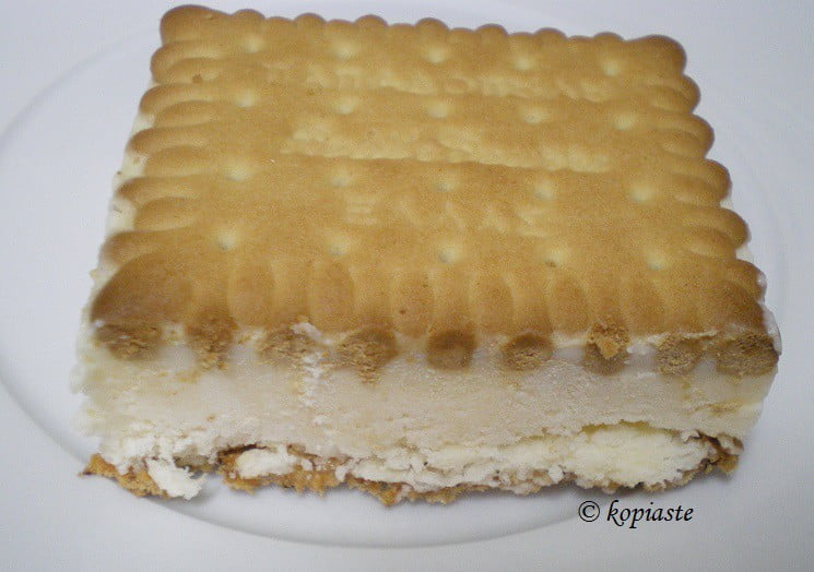 ice-cream sandwich