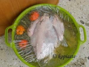 Turkey brining