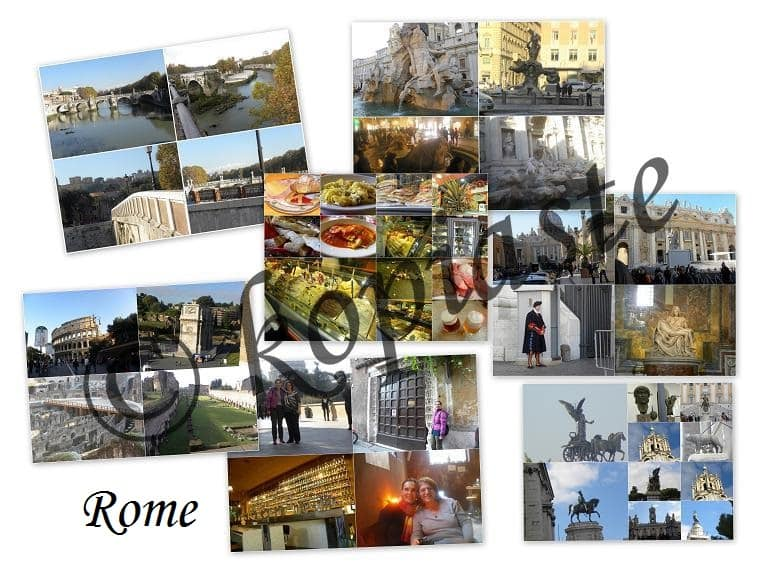 Collages2 of Rome