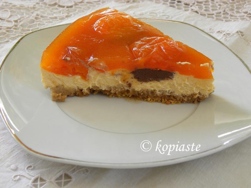 Apricot cheesecake