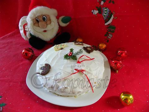 Christmas Cake 2011 Marked